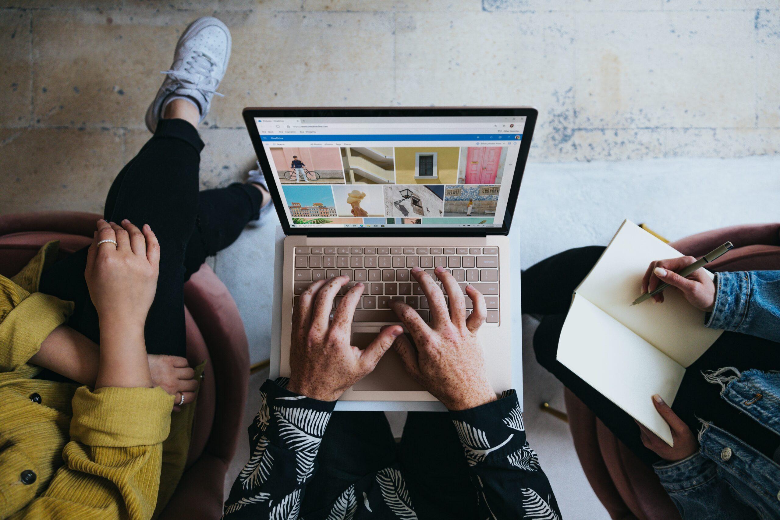 Clientes comprando online